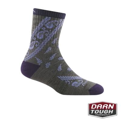 【美國DARN TOUGH】女羊毛襪Janis Cushion健行襪(隨機)
