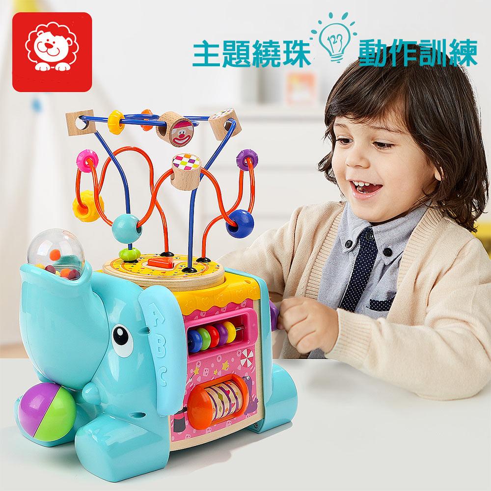 大象馬戲團遊戲繞珠(18m+)