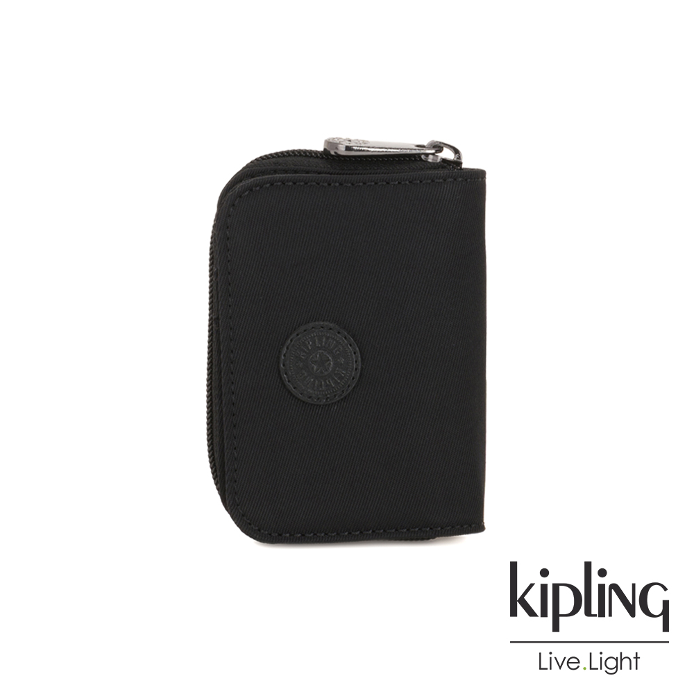 Kipling 極致低調黑短夾-TOPS