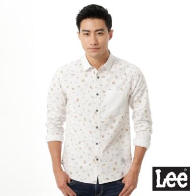 Lee Urban Rider 印花長袖襯衫-男款