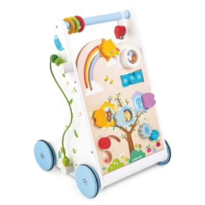 英國 Le Toy Van- Petilou系列啟蒙玩具系列-小森林嬰幼兒啟蒙學步車