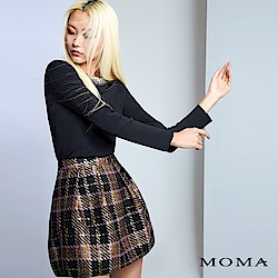 MOMA 多彩活褶短裙