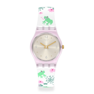 Swatch LovelyGarden系列手錶 ENCHANTED POND 許願池畔-25mm