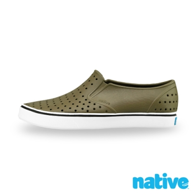native MILES 男/女鞋-橄欖綠