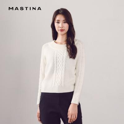 【MASTINA】優雅造型-針織衫(三色)