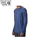 Mountain Hardwear 男款-快排長袖上衣-深藍 MOM00820NY