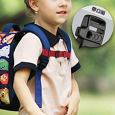 防滑胸帶雙肩背包胸前扣帶附口哨小孩大人款-2條入