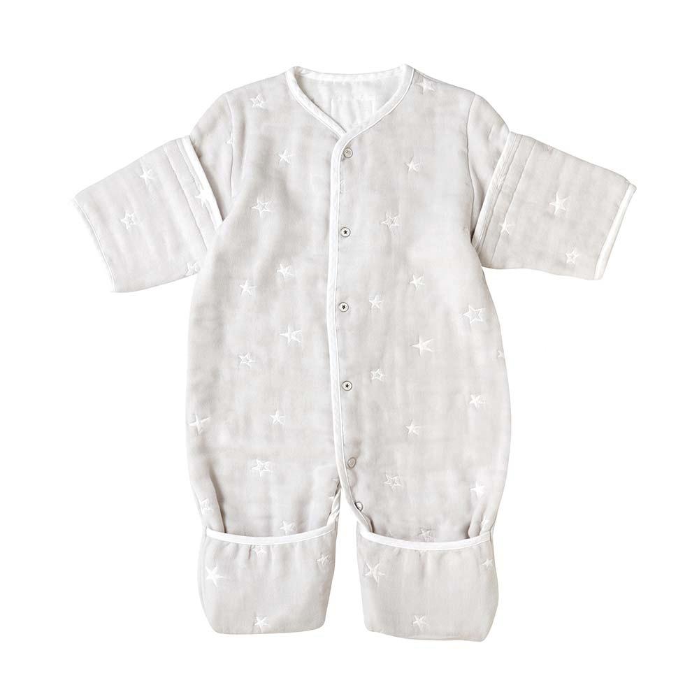 10mois 銀河星彩六層紗可拆袖成長型睡袍