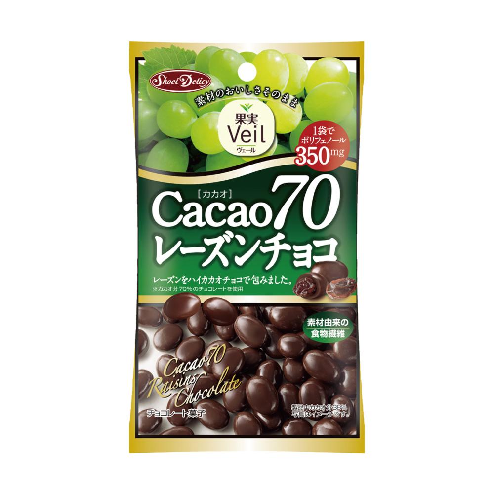 正榮 果實Veil可可70%葡萄乾巧克力(40g)