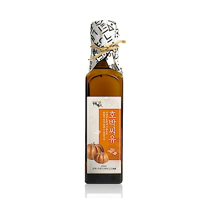 韓國千年味人 初榨冷壓南瓜籽油(250ml/瓶)