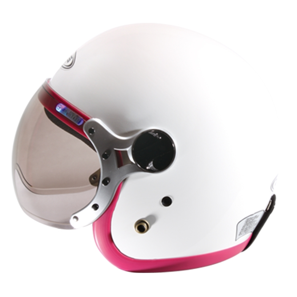 【ZEUS】383A 素色 3/4罩 騎士帽(安全帽│機車│內襯│鏡片│半罩│可拆洗內襯│開放式安全帽│GOGORO)