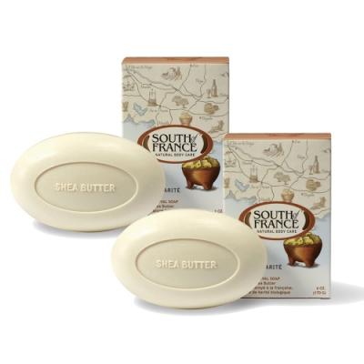 (買1送1)South of France 南法馬賽皂 乳木果油 170g -共2入 (盒損)(效期至2021.02)