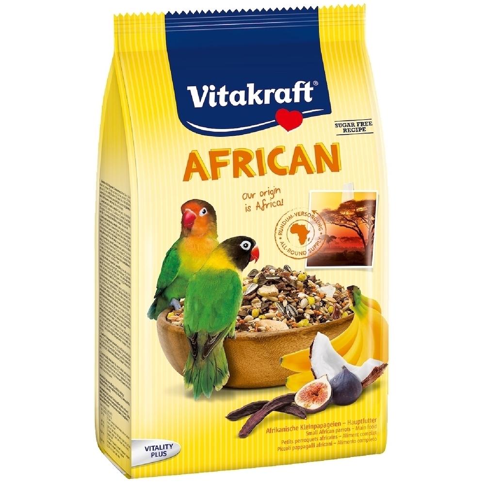 德國Vitakraft Vita-中小型鸚鵡-非洲鸚鵡總匯美食系列(21641) 750g (效期:2021/06)