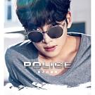 POLICE- 水銀面 太陽眼鏡 (銀色)PE-SPL456G