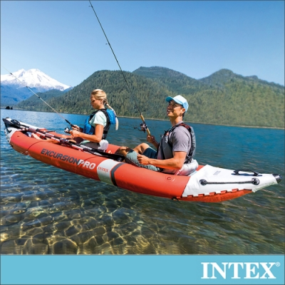 INTEX 2人獨木舟橡皮艇EXCURSION PRO型(68309)