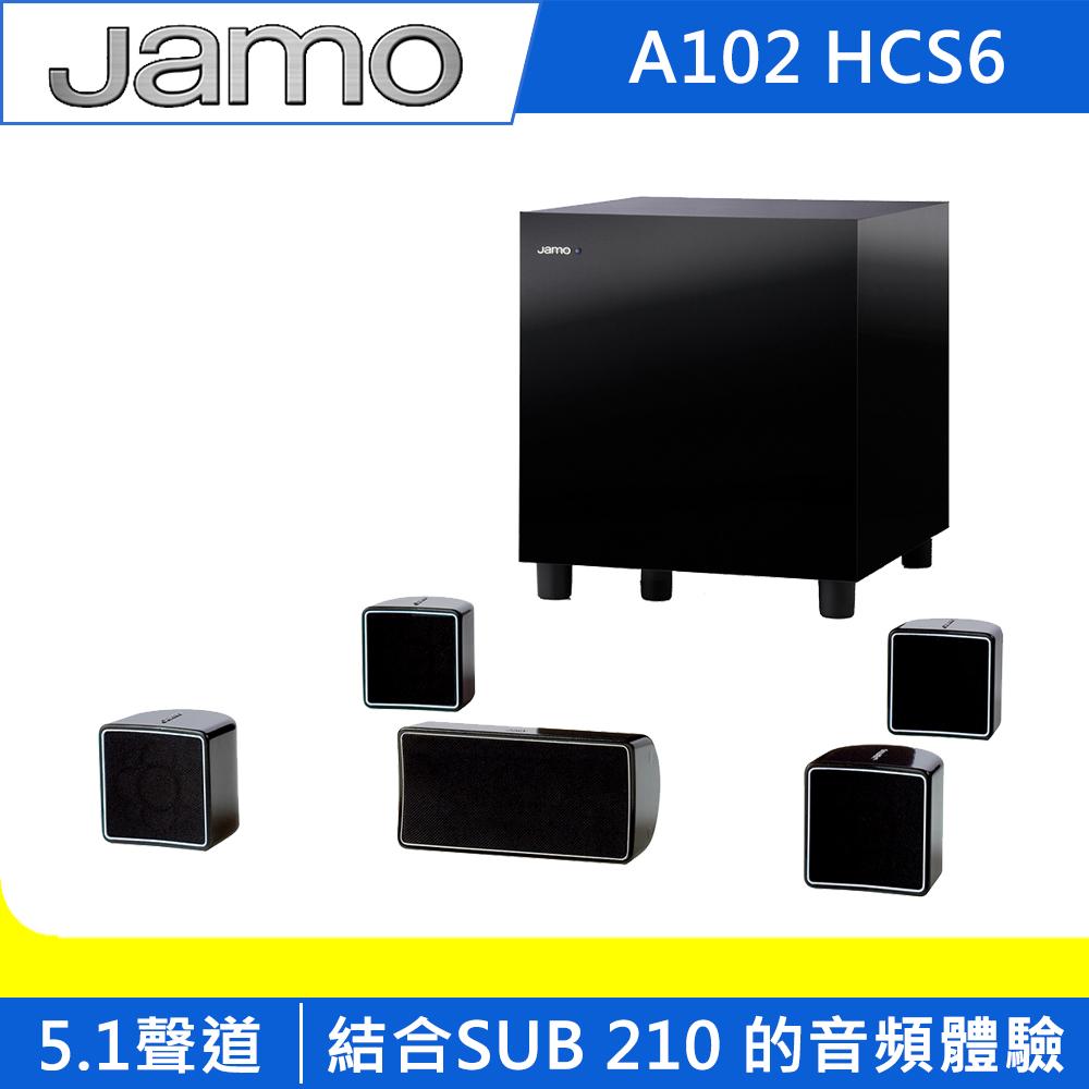 Jamo 5.1聲道環繞喇叭 A102 HCS6