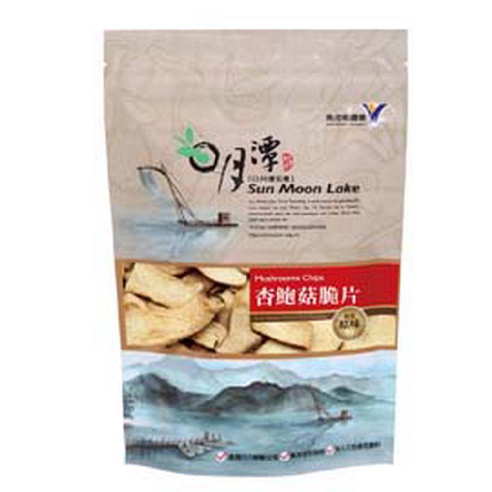 魚池鄉農會 杏鮑菇脆片-黑胡椒(90g)