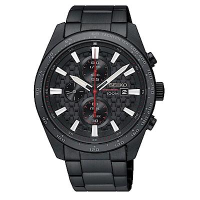 SEIKO 精工 CRITERIA登躍極致太陽能運動腕錶/SSC657P1/V176-0A