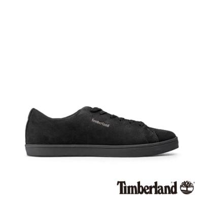 Timberland 男款黑色磨砂革牛津休閒鞋|A23R4