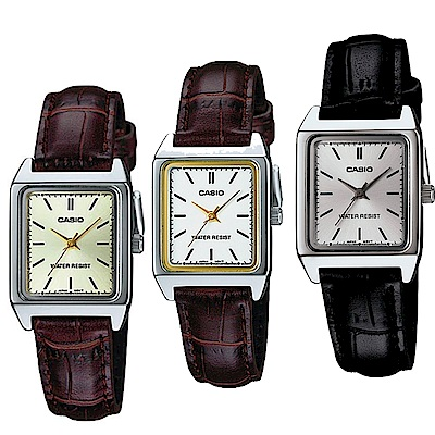 CASIO 復古方形造型經典指針錶(LTP-V007L)-多品任選均價$799