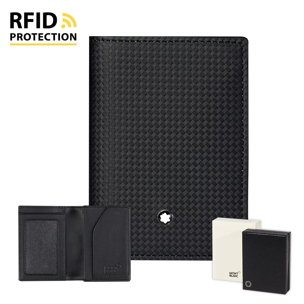 MONTBLANC 萬寶龍 Extreme風尚2.0 RFID視窗名片夾 –  123954