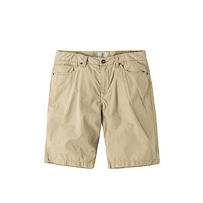 Timberland 男款淺褐色輕質水洗直筒短褲 | A1MXI264