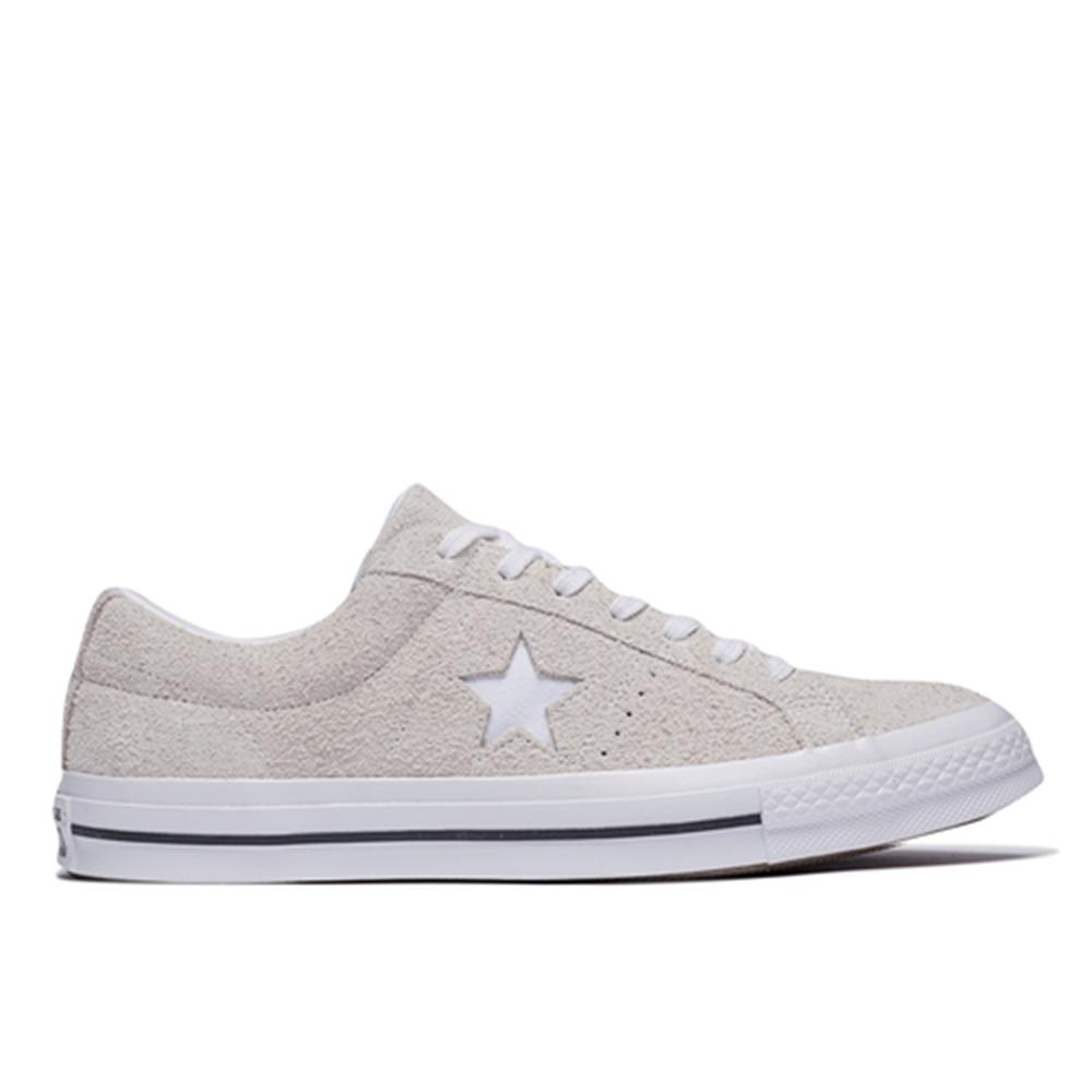 CONVERSE-ONE STAR OX 男女休閒鞋-白| 低