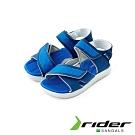 Rider 休閒涼拖鞋 兒童款 藍