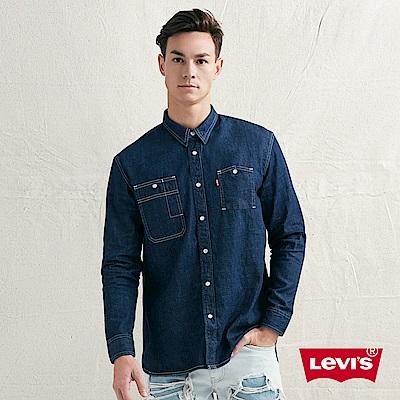 Levis 男款 牛仔襯衫 休閒版型 簡約紳士風