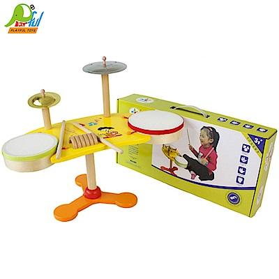Playful Toys 頑玩具 木製爵士鼓架子鼓