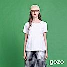 gozo 立體繡線圖印造型上衣(二色)