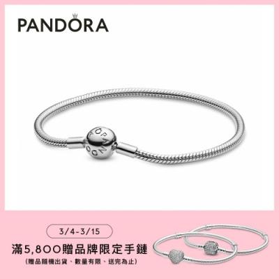【Pandora官方直營】Moments經典蛇型手鏈