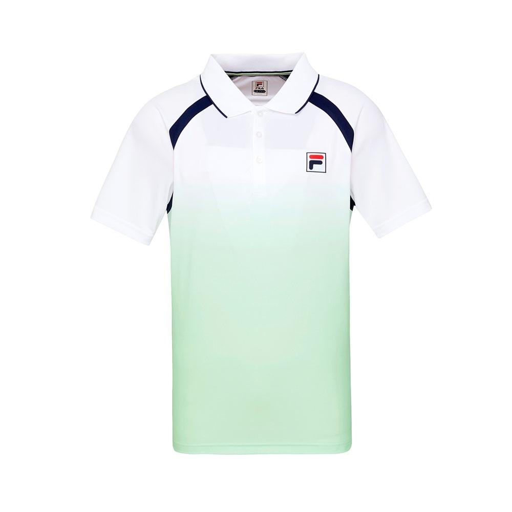 FILA 男短袖POLO衫-淺綠 1POT-5013-LN