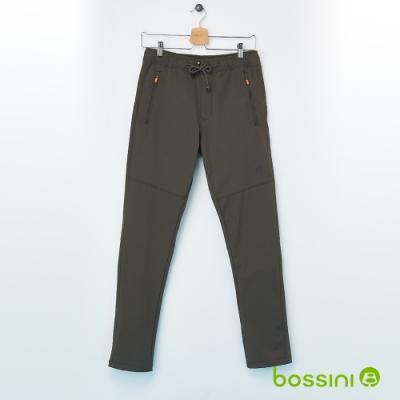 bossini男裝-彈性輕便保暖褲02軍綠色