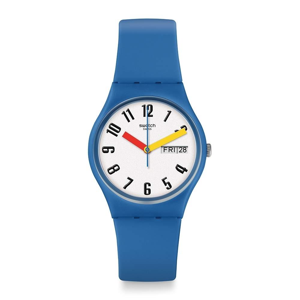 Swatch Bau 包浩斯系列手錶 SOBLEU 3D天空藍 -34mm