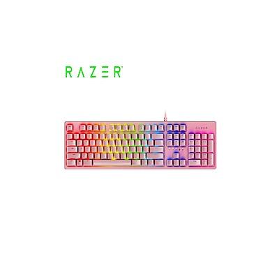 雷蛇 獵魂光蛛粉晶版 機械式RGB鍵盤(RZ03-02521800-R3M1)