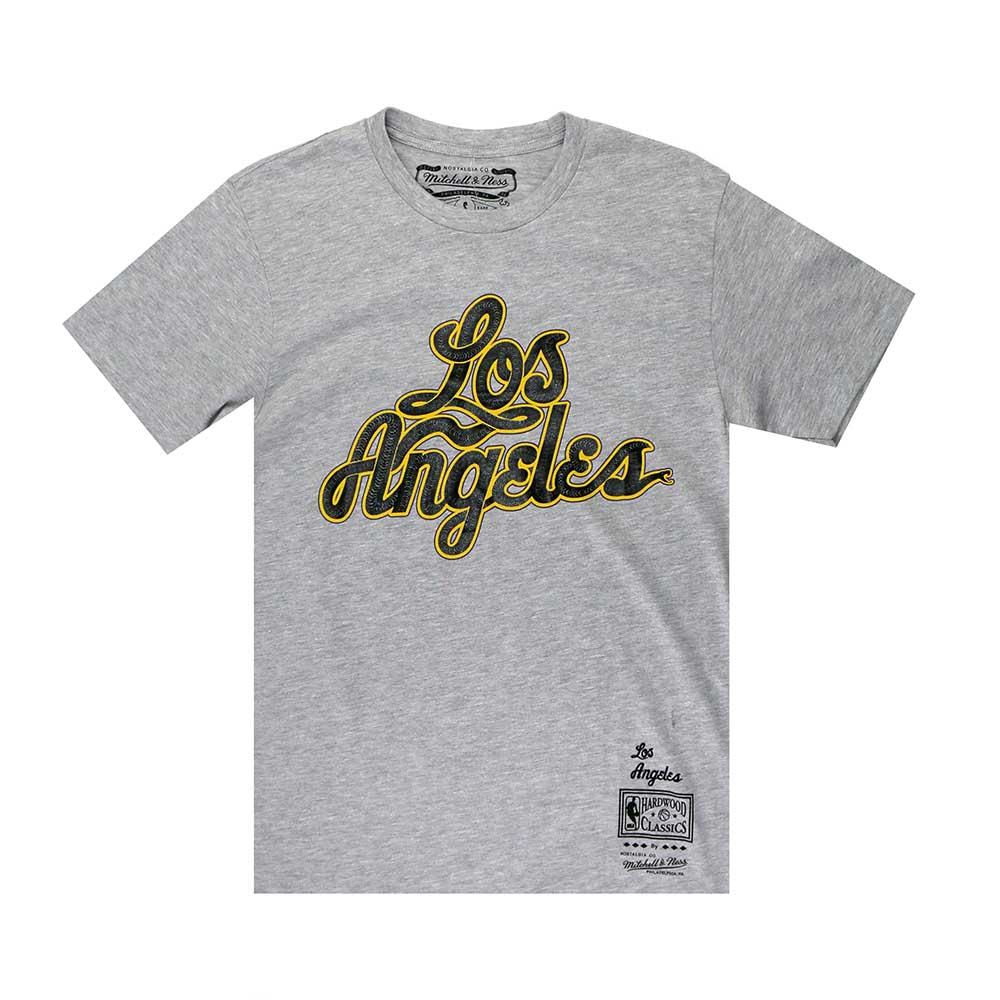 M&N NBA LA Snake 短袖T恤 湖人隊