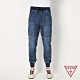 GUESS-男裝-抽繩窄版牛仔縮口褲-藍 原價2990 product thumbnail 1