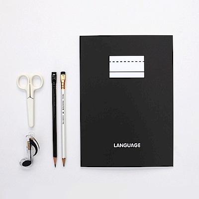 2NUL 語言學習筆記本V3-B5-鋼鐵黑