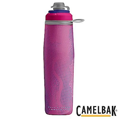 《CAMELBAK》運動保冰噴射水瓶 粉紅 750ml (CB1877601075)
