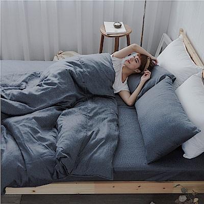 BUHO 100%TENCEL天絲床包枕套組-雙人特大(觀心清朗)