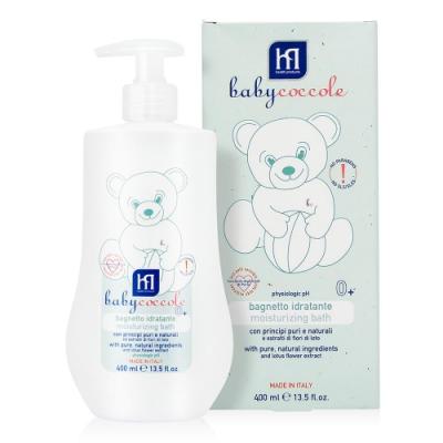 寶貝可可麗 babycoccole 寶寶泡泡沐浴露 400ML(保濕)