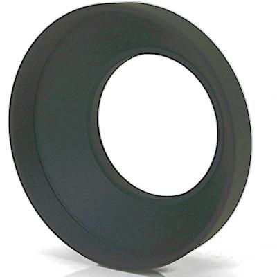 PeiPei副廠鏡頭螺紋72mm遮光罩螺牙72mm太陽罩PCS72(金屬製, 圓筒內裡消光啞紋, 適(小)廣角鏡頭)
