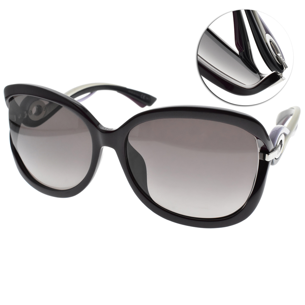DIOR太陽眼鏡 貴婦時尚款/紫-漸層紫 #TWISTING F JYIXQ
