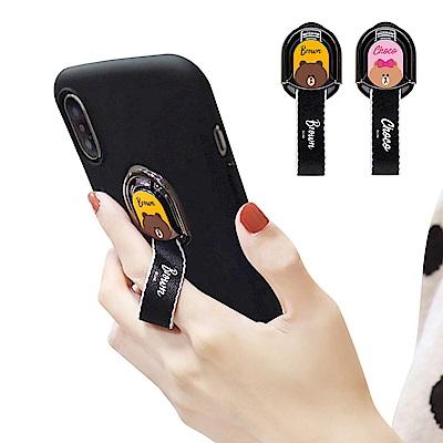 iStyle iPhone XS Max 6.5吋 熊大熊美指環掛繩手機殼 @ Y!購物