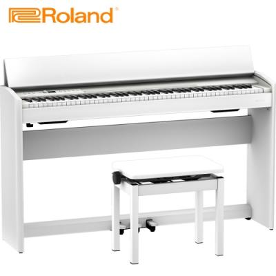 ROLAND F701 WH 88鍵數位電鋼琴 典雅白色款
