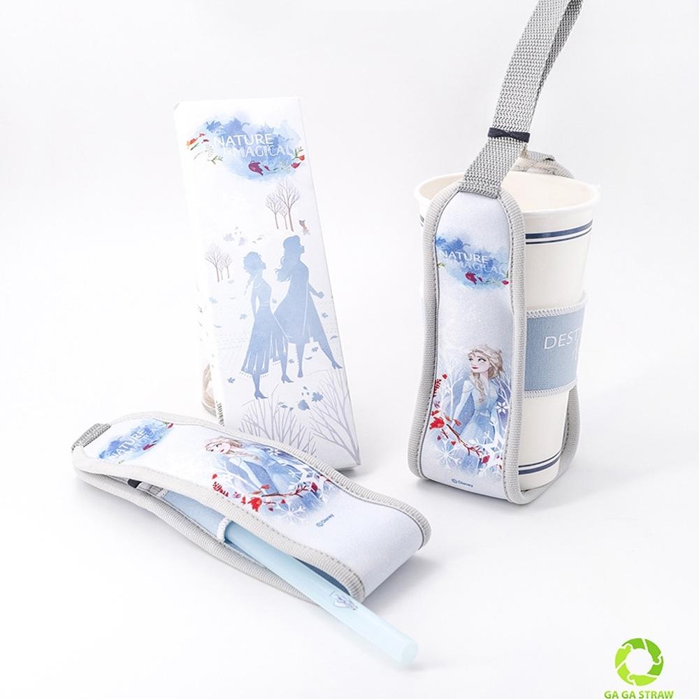 冰雪奇緣2 卡卡環保吸管-杯管套限定版(1入)
