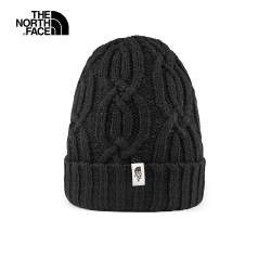 The North Face北面女款黑色舒適保暖戶外運動帽|3FNNJK3