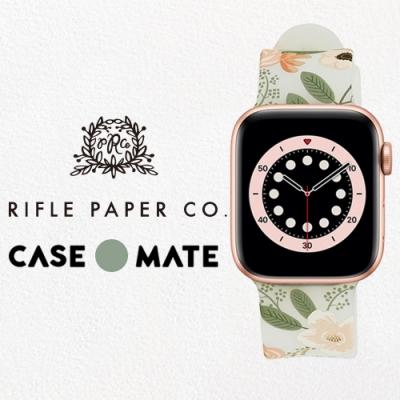 美國 Rifle Paper Co. x CM 限量聯名款 Apple Watch 38-40mm 錶帶 - 花園派對 - 粉