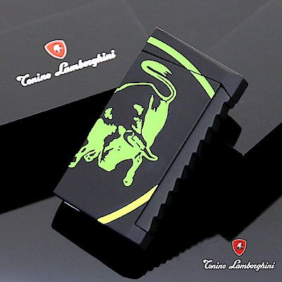 藍寶堅尼Tonino Lamborghini IL TORO LIGHTER打火機(黑綠)